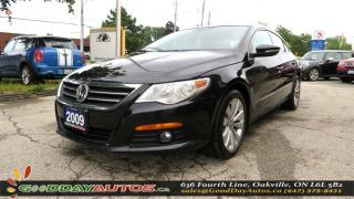 Used 2009 Volkswagen Passat CC Sportline |LOW KM|NO ACCIDENT|LEATHER|CERTIFIED for sale in Oakville, ON