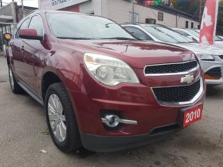 Used 2010 Chevrolet Equinox 1LT-MINT-CLEAN REPORT-SUNROOF-BK CAM-ALLOYS for sale in Scarborough, ON