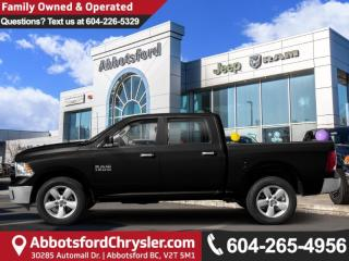 Used 2019 RAM 1500 Classic SLT - Diesel Engine - Heated Seats for sale in Abbotsford, BC