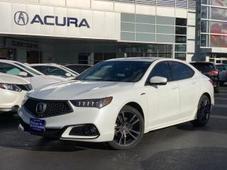 Used 2018 Acura TLX Tech A-Spec TECH | ASPEC | 1OWNER | BOUGHTHERE | NAVI for sale in Burlington, ON