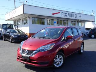 Used 2018 Nissan Versa Note Alloy Wheel Package, Bluetooth, Low Kms for sale in Vancouver, BC