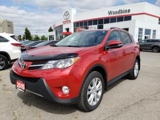 Used 2015 Toyota RAV4 Limited AWD | Leather for sale in Etobicoke, ON