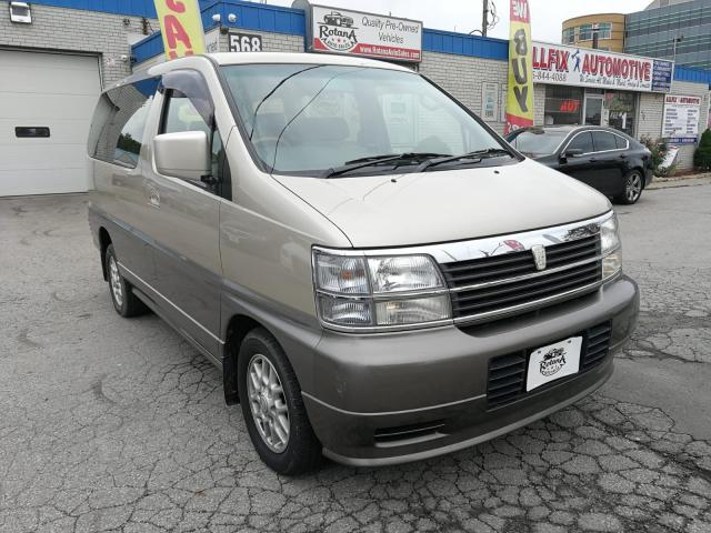 1999 Nissan Quest Navi | Backup Camera | Sunroof | AWD