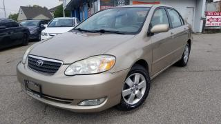 Used 2007 Toyota Corolla One Owner, Safety Certified for sale in Mississauga, ON