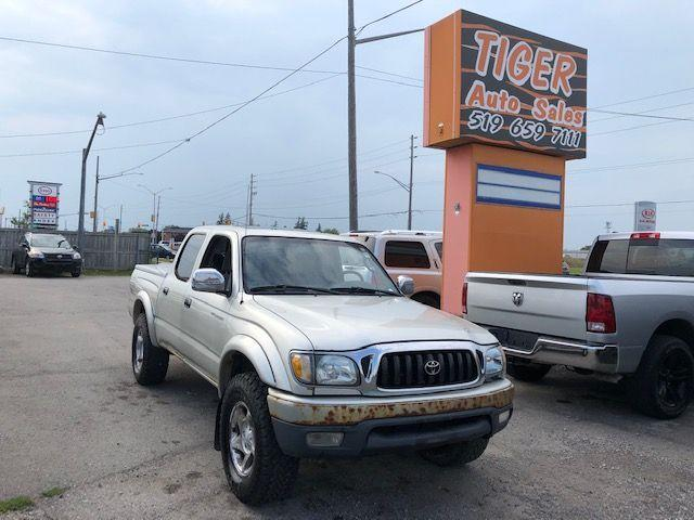 2002 Toyota Tacoma TRD OFF ROAD**4X4**AUTO**CREW CAB**V6**AS IS
