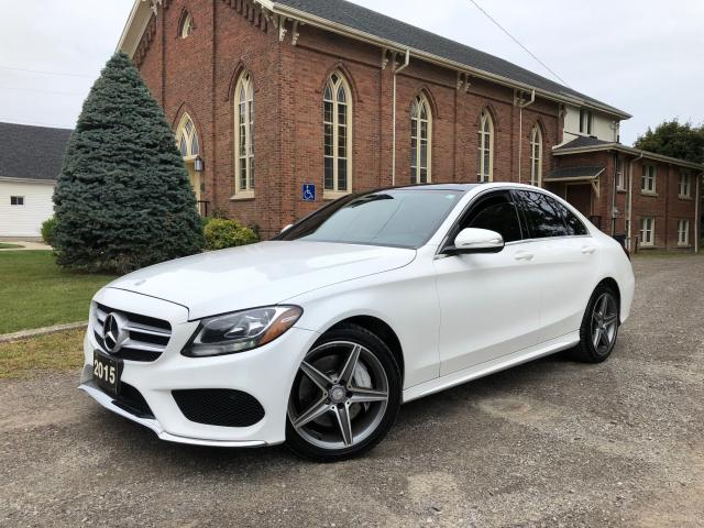 2015 Mercedes-Benz C-Class C 300 - LOADED - LEATHER - NAVI - CERTIFIED