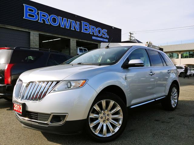 2013 Lincoln MKX LOCAL, PANA ROOF, NAVIGATION, LOADED