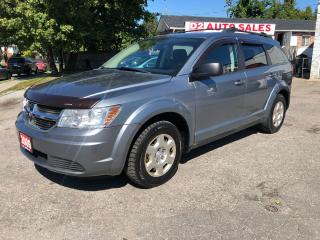 Used 2009 Dodge Journey Auto/Backup Camera/Comes Certified/Accident Free for sale in Scarborough, ON
