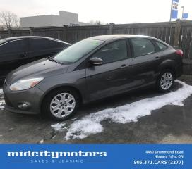 Used 2012 Ford Focus SE/Fuel Efficient/Power Options/Comfortable Ride for sale in Niagara Falls, ON