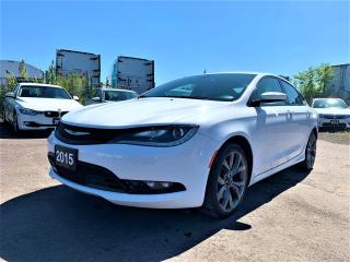 Used 2015 Chrysler 200 S AWD/NAVI/REAR CAM/ONE OWNER for sale in Brampton, ON