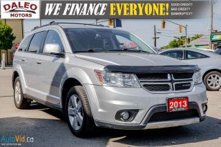 Used 2013 Dodge Journey SXT | 7 PASSENGER | HEATED MIRRORS | BLUETOOTH | for sale in Hamilton, ON
