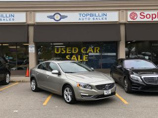 Used 2015 Volvo S60 T5 Premier Plus, AWD, Navi, Blind Spot, Backup Cam for sale in Vaughan, ON