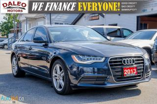 Used 2013 Audi A6 2.0T | LEATHER | NAV | HEATED SEATS | BACKUP CAM | for sale in Hamilton, ON