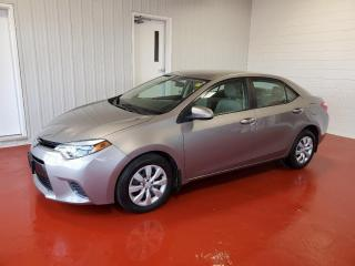 Used 2015 Toyota Corolla LE Sedan for sale in Pembroke, ON