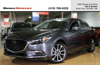 Used 2018 Mazda MAZDA3 GT - BLINDSPOT|LANEKEEP|NAVI|BACKUP|SUNROOF|BOSE for sale in North York, ON