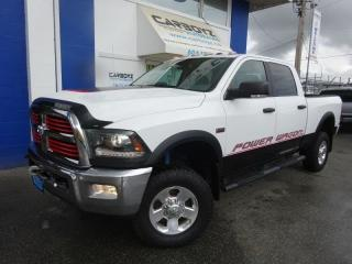 Used 2016 RAM 2500 Power Wagon 4x4, Crew 6.4L, Nav, Sunroof, Camera for sale in Langley, BC