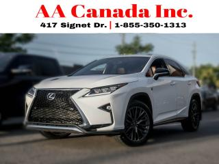 Used 2016 Lexus RX 350 F SPORT |REDLEATHER|NAVI|PANOROOF| for sale in Toronto, ON