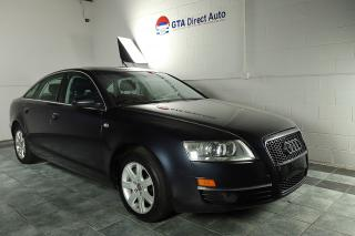 Used 2007 Audi A6 3.2L Quattro Nav Sunroof Leather Camera Trade In for sale in Toronto, ON