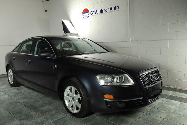 2007 Audi A6 3.2L Quattro Nav Sunroof Leather Camera Trade In