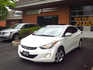 Used 2013 Hyundai Elantra GLS Sunroof Heated Seats Bluetooth Alloys Certif* for sale in Concord, ON