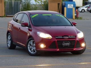 Used 2012 Ford Focus SEL,LEATHER,BLUETOOTH,HEATED-SEATS,SUNROOF,LOADED for sale in Mississauga, ON