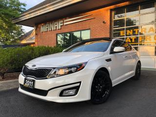 Used 2011 Kia Optima SX Turbo Panoramic Sunroof Navi Rear Cam Certified for sale in Concord, ON