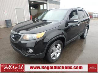 Used 2013 Kia Sorento EX 4D Utility AT AWD 2.4L for sale in Calgary, AB