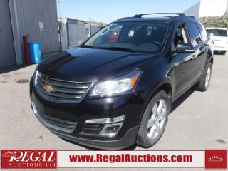 Used 2017 Chevrolet Traverse 1LT 4D Utility AWD 3.6L for sale in Calgary, AB