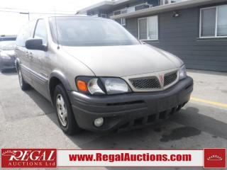 Used 2002 Pontiac Montana 4D EXT WAGON for sale in Calgary, AB
