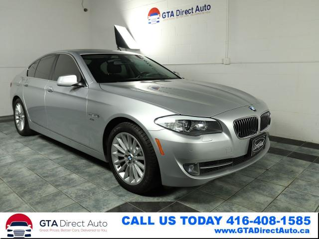 2012 BMW 5 Series 535i xDrive Nav Sunroof Cam Leather Prem Certified