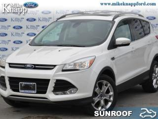 Used 2013 Ford Escape SEL  - Leather Seats -  Bluetooth for sale in Welland, ON