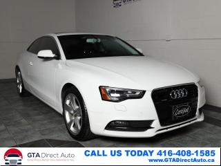 Used 2014 Audi A5 Komfort AWD Sunroof Leather Xenon Alloys Certified for sale in Toronto, ON