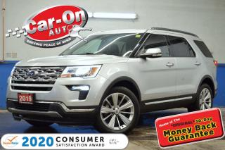 Used 2019 Ford Explorer LIMITED 7 SEAT LEATHER NAV ROOF REAR CAM for sale in Ottawa, ON