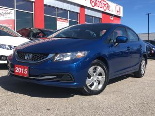 Used 2015 Honda Civic LX, one owner,roadsport original for sale in Toronto, ON