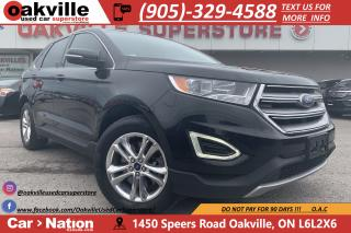 Used 2015 Ford Edge SEL | LEATHER | PANO ROOF | NAVI | B/U CAM for sale in Oakville, ON