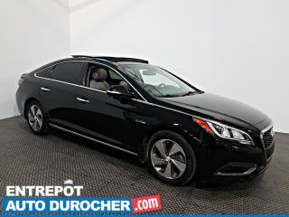 Used 2016 Hyundai Sonata Hybrid Limited NAVIGATION - Toit Ouvrant - A/C - CUIR for sale in Laval, QC
