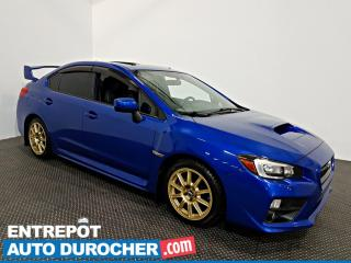 Used 2015 Subaru WRX W/Sport-tech  AWD NAVIGATION - Toit Ouvrant - A/C for sale in Laval, QC