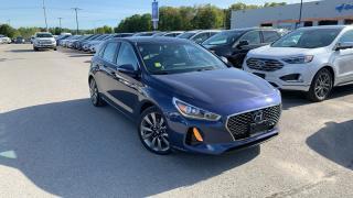 Used 2018 Hyundai Elantra GT Gt Sport 1.6l T Heated Steering/ Seats Naviga... for sale in Midland, ON
