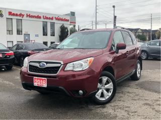 Used 2016 Subaru Forester 2.5i Convenience - Rear Camera - Alloy Wheels for sale in Mississauga, ON