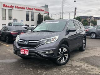 Used 2016 Honda CR-V Touring for sale in Mississauga, ON