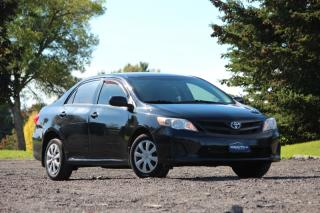 Used 2011 Toyota Corolla LOW KILOMETRES!MANUAL|A/C|AUX|CERTIFIED| BY APPOINTMENT ONLY for sale in Newmarket, ON