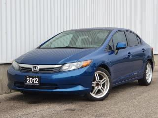 Used 2012 Honda Civic 4dr Auto LX for sale in Mississauga, ON