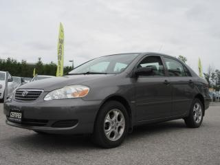 Used 2008 Toyota Corolla ONE OWNER / ACCIDENT FREE for sale in Newmarket, ON