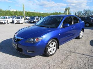 Used 2008 Mazda MAZDA3 4dr / ACCIDENT FREE for sale in Newmarket, ON