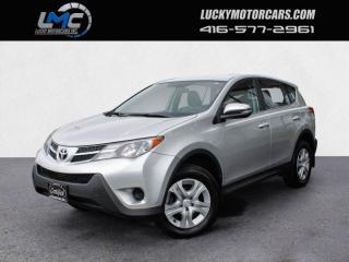 Used 2014 Toyota RAV4 LE AWD-BLUETOOTH-FULLY LOADED-CERTIFIED for sale in Toronto, ON