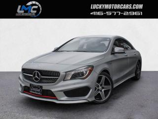 Used 2015 Mercedes-Benz CLA-Class CLA250 4MATIC AMG SPORT PERFORMANCE PKG-LEDS-NAVI-BLINDSPOT for sale in Toronto, ON