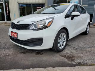 Used 2015 Kia Rio EX ** Bluetooth, Heated Seats, Low Km's ** for sale in Bowmanville, ON