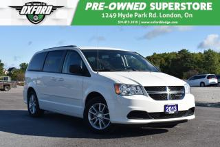 Used 2013 Dodge Grand Caravan SE/SXT - One Owner, Well Equipped, Trailer Hitch for sale in London, ON