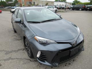Used 2017 Toyota Corolla 2017 Toyota Corolla - 4dr Sdn CVT SE for sale in Toronto, ON