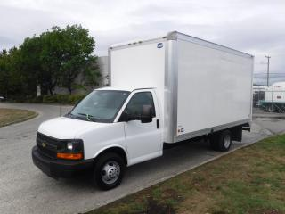 Used 2015 Chevrolet Express G3500 16 Foot Cube Van with Ramp for sale in Burnaby, BC